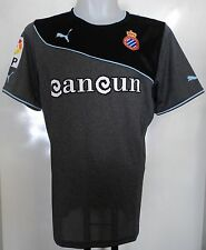 ESPANYOL RCD 2013/14 AWAY SHIRT BY PUMA ADULTS SIZE LARGE BRAND NEW WITH TAGS