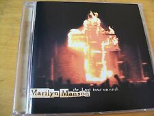 MARILYN MANSON THE LAST TOUR ON EARTH CD  MINT-