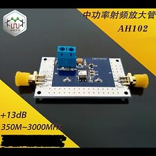 350MHZ-3000MHz RF Power Amplifier Modules Fixed Gain of 13dB