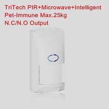TriTech Wired PIR & Microwave & Intelligent Motion Intrusion Detector Pet Immune