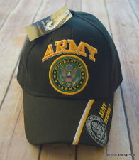 OFFICIALLY LICENSED U.S. ARMY MILITARY BASEBALL CAP/HAT WITH ADJUSTABLE STRAP