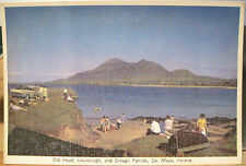 Irish Postcard OLD HEAD LOUISBURGH & CROAGH PATRICK Mayo Ireland Cardall 4x6