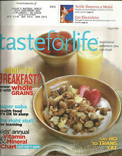 Taste for Life August 2005 Whole Grains/Kids Vitamin and Mineral Chart/Soba