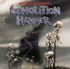 "DEMOLITION HAMMER ""EPIDEMIC OF VIOLENCE"" CD RE-RELEASE"