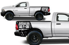 Vinyl Decal Patriot Wrap Kit for Dodge Ram 2009-2014 1500/2500/3500 Matte Black