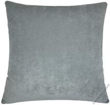 """Gray Velvet Solid Decorative Pillow Cover / Cushion Cover 20x20"""""""