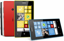 Nokia Lumia 520 8GB Unlocked Smartphone Microsoft Windows Phone 5MP Red