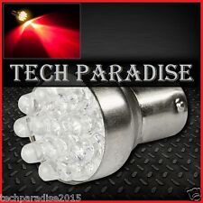 2x Ampoule 12 LED Bulb Rouge Red feux stop P21W / BA15S / 1156 / R5W 12V