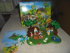 Playmobil Lot Easter Bunny 4450 HTF Box Booklet 2003 Rabbits Paint Smock Eggs
