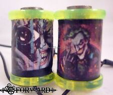"1.25"" Tattoo Machine 8-32 Coils Lime Washers with Custom Joker Comic Book Covers"
