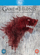 Game Of Thrones : Season 1-2 (Blu-ray, 2013, 10-Disc Set) Region B