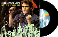 """NIK KERSHAW - I WON'T LET THE SUN GO DOWN ON ME - POSTER PACK 7"""" 45 RECORD 1983"""