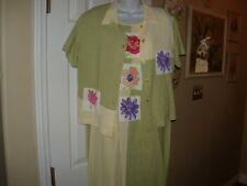 Ladies Size S Aimee D. Petites Dress With Shirt Jacket Long Dress