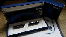 Pelikan M215 Black Lozenge Fountain Pen Discontinued (M or B nib)