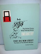 1969, Company D, 4th Bat. Infantry, US Army Training Ctr, Fort Dix, NJ Yearbook