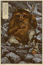 2011 The Raconteurs - Nashville II Concert Poster by Rob Jones Mondo