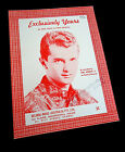 CARL DOBKINS Jr.-Exclusively Yours-Original 1960's Australian issue Sheet Music