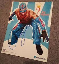 WWE Rey Mysterio 11x14 Autograph Signed Picture Photograph