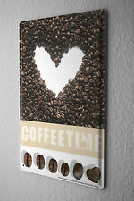 Tin sign restaurant kitchens decoration Coffee Time Wall metal plate