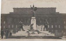 POSTCARD  MILITARY   LIVERPOOL    War Memorial