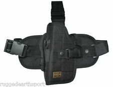 LEFT HAND Tactical Drop Leg Thigh Gun Holster Universal for most Pistols
