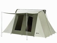 Kodiak Canvas 10x14 Deluxe Flex-Bow Waterproof 8 Person Camping Tent 6014
