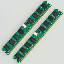 New 4GB 2X 2GB DDR2-800MHz PC2-6400 240PIN Fit AMD Motherboard Dimm memory RAM