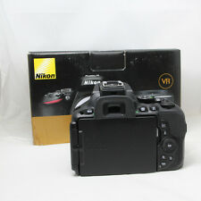 Nikon D D5500 24.2MP Digital SLR Camera - Black (Body Only)