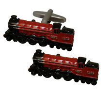 Royal Scott Steam Train Cufflinks Railway Enthusiast Gift  in Tin   22411