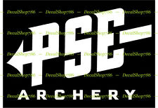 PSE Archery - Hunting Bows & Outdoor Sports - Vinyl Die-Cut Peel N' Stick Decal