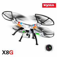 Syma X8G RC Quadcopter Radio Drone 2.4G 6 Axis UAV RTF UFO With 8.0MP Camera