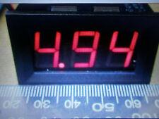 Motor fuera de borda Barco Coche Digital Voltímetro Medidor de los sistemas de 6/12/24 Voltios DC..