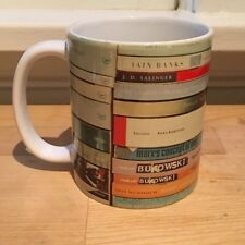 Famous Authors Library Classic Books Stacks Reader Coffee Mug