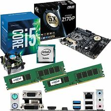 Intel Core i5 6500 3.2ghz & ASUS z170-p & 8gb ddr4 2133 Bundle Crucial