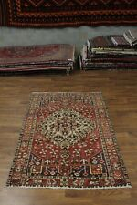 Rare Geometric Design S Antique Bakhtiari Persian Rug Oriental Area Carpet 5X7