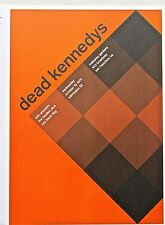 Dead Kennedy's Concert Poster Reprint No  2-  Unsigned Offset Lithograph 13x10