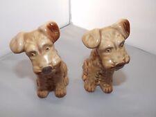 2 x COLLECTABLE  SYLVAC DOG 1378 LIGHT BROWN EX CON