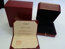 REPLACEMENT CARTIER BRACELET CERTIFICATE AND BOX