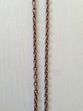 Mid-size Metal Tow Chain Rusty look for 1/35 1/32 scale model Aftermarket part