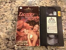 ESCAPE TO LOVE SUPER RARE OOP ROMANCE LOVE VHS! NEVER ON DVD! w/LOUIS JOURDAN!