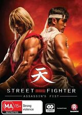 Street Fighter Assassin's Fist Movie Edition DVD NEW