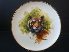 WEDGWOOD SPINK DAVID SHEPHERD WILDLIFE COLLECTION TIGER PLATE