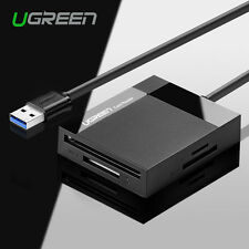 Ugreen USB 3.0 Compact Flash Multi Memory Card Reader For TF SD CF MS Card 5Gbps