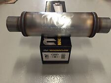 "Magnaflow 12867 3"" inlet / outlet Resonator Round Muffler 20"" length 14"" body"