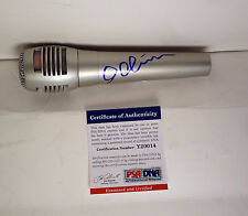 IDINA MENZEL LET IT GO FROZEN ELSA SIGNED AUTOGRAPH MICROPHONE PSA/DNA COA