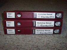 1991-1993 Porsche 911 964 3.3L Turbo Workshop Shop Service Repair Manual Set 92