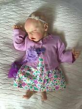 Reborn Baby Twin A by Bonnie Brown 17 Inches For Custom, Pre order. NOT finsihed