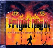 FRIGHT NIGHT HALLOWEEN: TERRIFYING MOVIE THEMES & CHILLING SOUNDS (2-CD Set) OOP