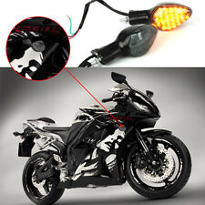 LED Front Rear Turn Signals Indicator Blinker For Honda CBR125R CB1300S CB1300