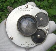 Lot #254 A C.P. Goerz large format camera lens. Read Description!